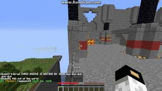 minecraft multiplaer gameplay with walls