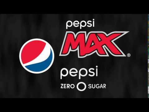 Pepsi MAX and Pepsi Zero Sugar logos