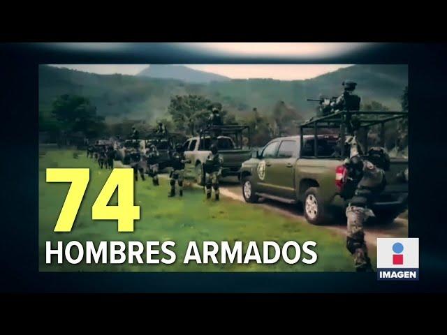 CJNG amenaza al gobierno con armas de alto calibre | Noticias con Ciro Gómez Leyva - Imagen Noticias