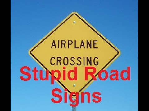 Funny Road Signs Compilation Road Sign Fails DDOF YouTube - 30 hilarious neon sign fails ever