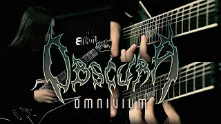 OBSCURA   Septuagint - Official Guitar Playthrough by Steffen Kummerer