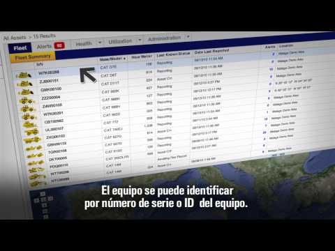 Cat® Product Link™ | Fleet-Asset Mgmt. (Spanish-Latin Am Subtitle)