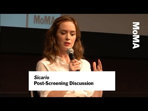 """Emily Blunt and Roger Deakins on """"Sicario"""" 