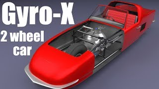 How does the Gyro-X Car work?
