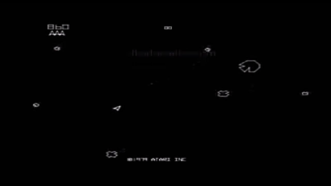 Asteroids - Arcade - Top 70s Video Games (Atari 1979)