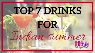 TOP 7 DRINKS YOU MUST TRY IN THIS SUMMER | GOBYSTYLE