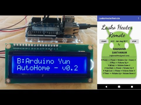 Control home appliance using phone - AutoHome - IoT for Home Automation - Arduino version