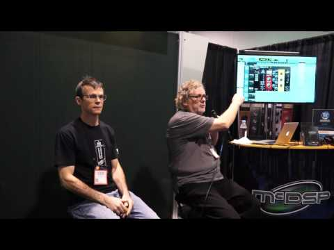Dave Pensado at McDSP booth NAMM 2016