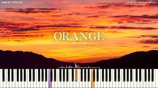 TREASURE (트레저) - ORANGE (오렌지) [PIANO COVER] видео