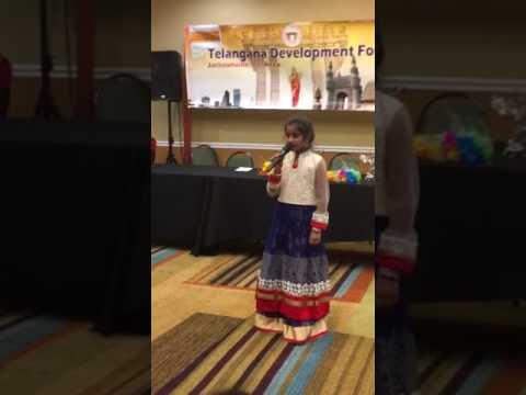 Podala podala gatla naduma (Bathukamma song) by Nidhi Sai Reddyreddy