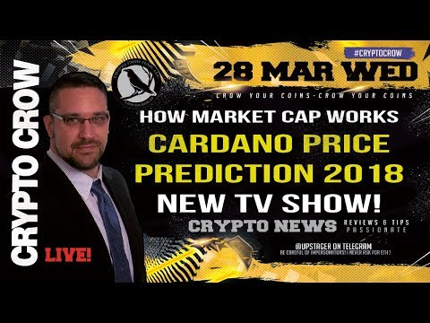 Cardano Price Prediction - How Market Caps Work - My New TV Show 👔