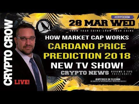 Cardano Price Prediction - How Market Caps Work - My New TV Show 👔