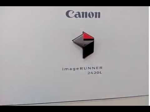 CANON IR 2420 PRINTER DRIVERS WINDOWS 7