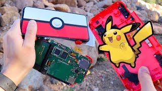 THROWING POKEBALL NEW 2DS XL - Will it Capture?