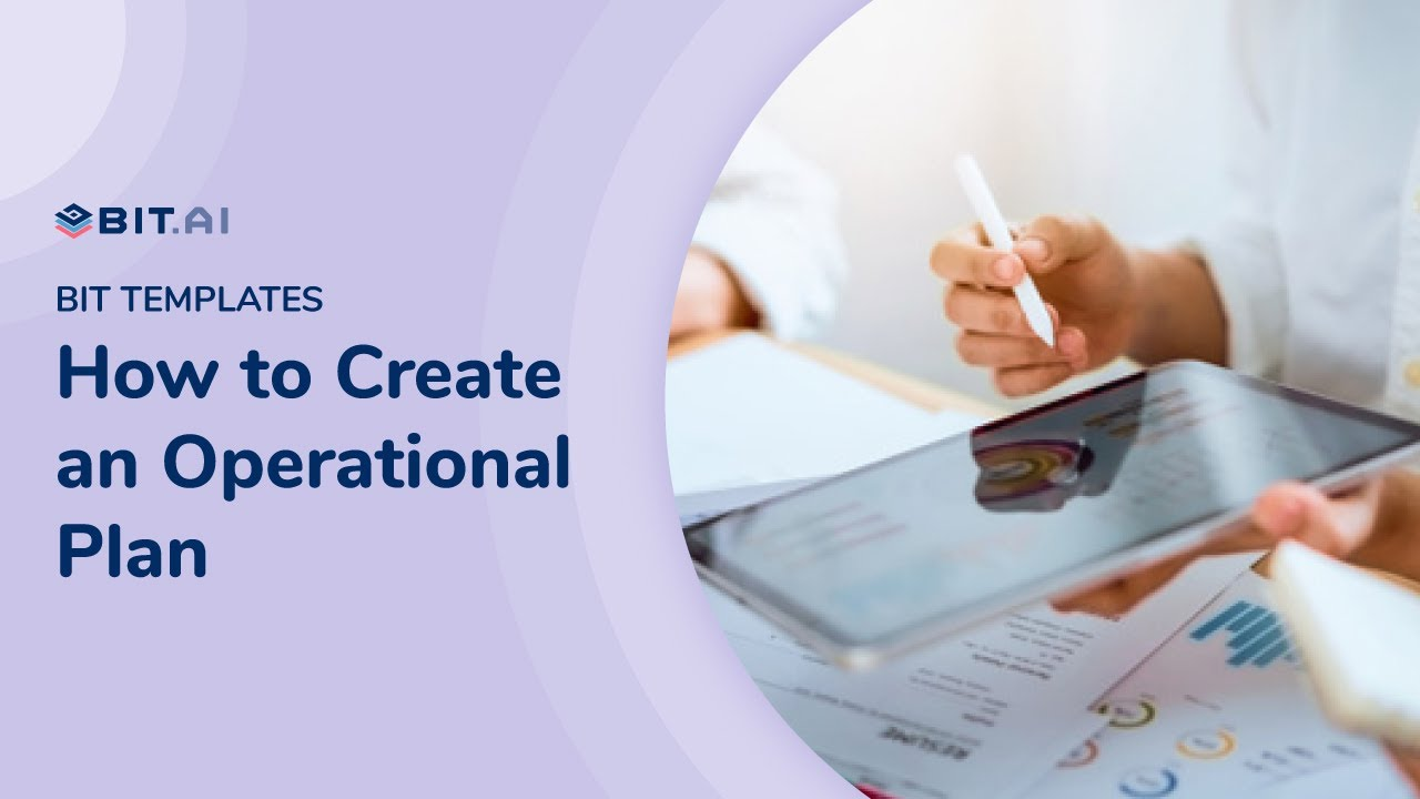 Operational Plan What Is It How To Create It Template Included