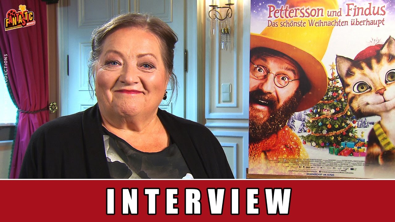 Pettersson und Findus 2 - Interview I Marianne Sägebrecht I Beda Andersson