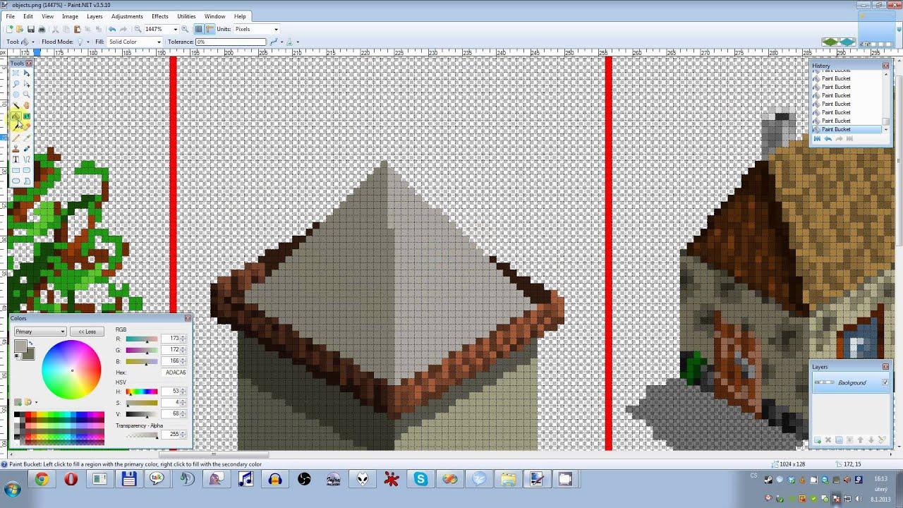 Pixel Art Microsoft Paint
