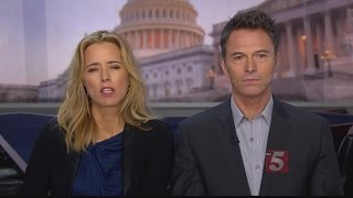 "TEA LEONI & TIM DALY PREVIEW THE NEW CBS DRAMA ""MADAM SECRETARY"""