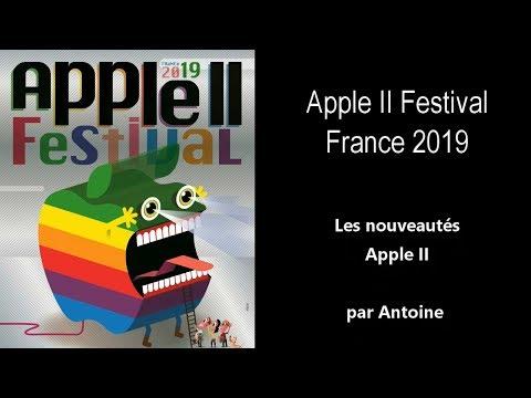 Apple II Festival 2019 - Les Nouveautés De L'année