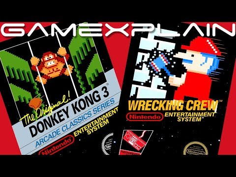 Nintendo Switch Online: July NES Games Reveal Trailer (Donkey Kong 3 & Wrecking Crew)