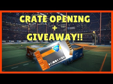 Giving Away Painted Wheels!! NEW Crate Opening Rocket League thumbnail
