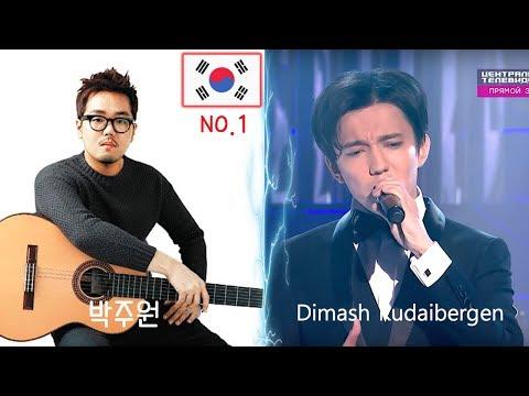 Корейский гитарист-гений смотрит Димаша... Mademoiselle Hyde