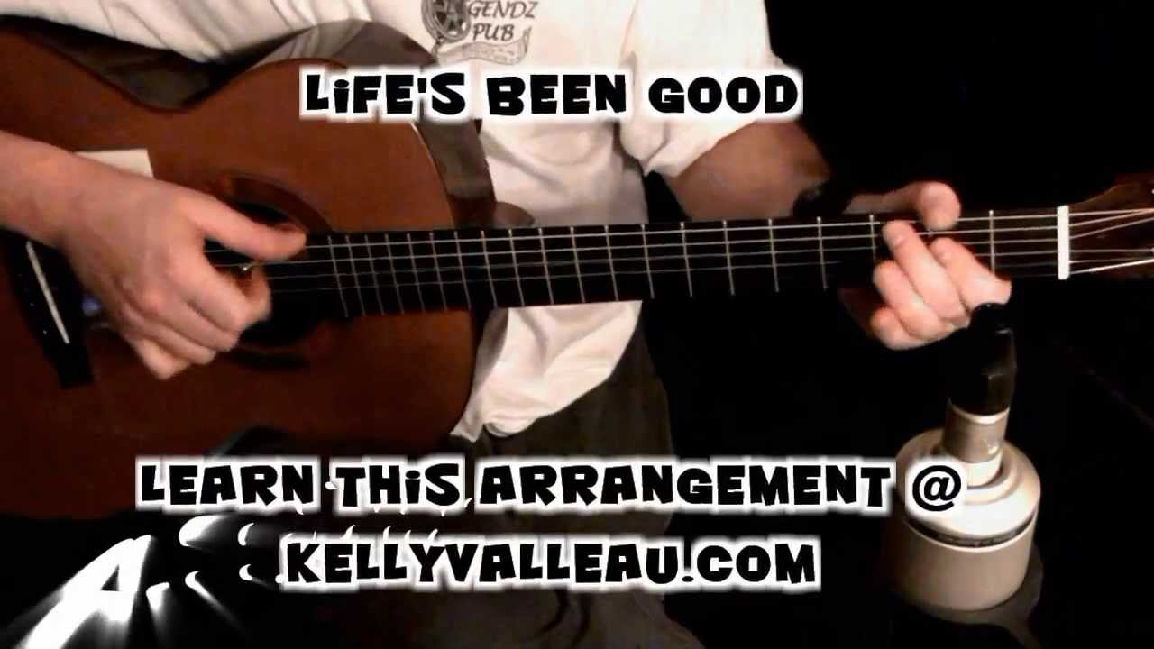 life's been good (joe walsh) - fingerstyle guitar - youtube