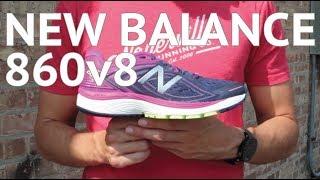 New Balance 860v8 Running Shoe Tech Review