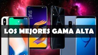 TOP 5 Los Mejores Celulares Gama Alta 2018 | El Mejor Celular De Alta Gama