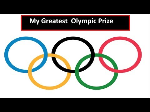 My Greatest Olympic Prize - ICSE Class 10th story