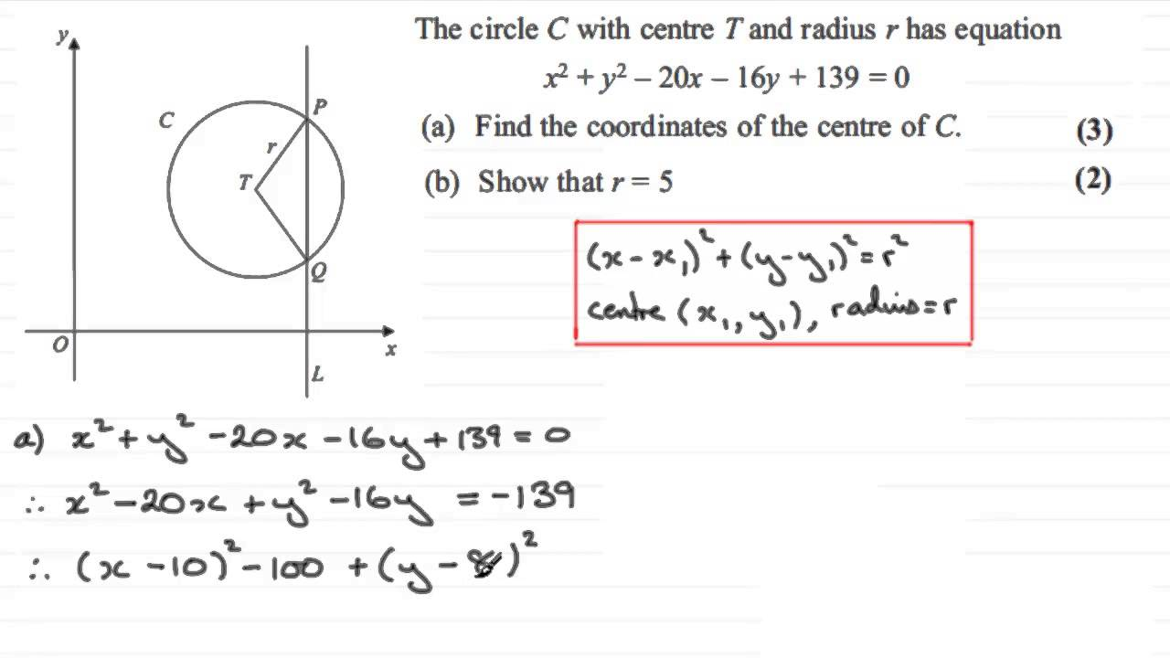 Free Worksheet Equations Of Circles Worksheet equation of circle and distance formula with worksheets videos activities