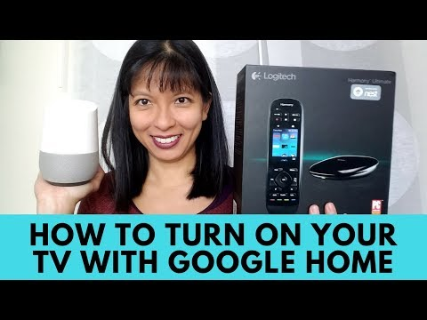 How To Turn On Your TV With Google Home - Harmony Remote And Hub Setup