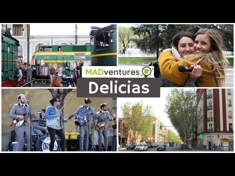 El Barrio De Delicias Y El Mercado De Motores, En Arganzuela   MADventures