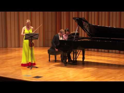 Katia Popov and Anton Smirnoff: L.V.Beethoven, Sonata #8 Op.30 #3 (1802)