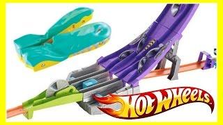 Hot Wheels Blade Raid Split Speeders Track Set!  Review & Fun Playtime Video