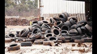 Reciclado de neumáticos - Informe - Matías Antico - TN Autos