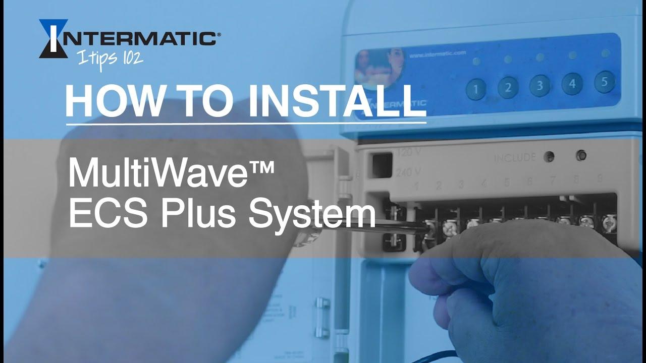 MultiWave™ ECS Plus System Basic Wiring - YouTube