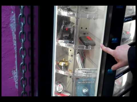 24 Hr Bike Parts Vending Machine Youtube