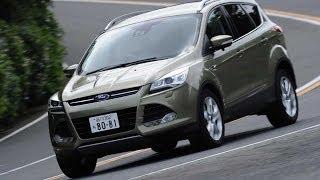 運動神経抜群のSUV フォード クーガ TestDrive