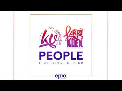 Kav Verhouzer & LarryKoek - People Feat. Entrpnr (Cover Art)