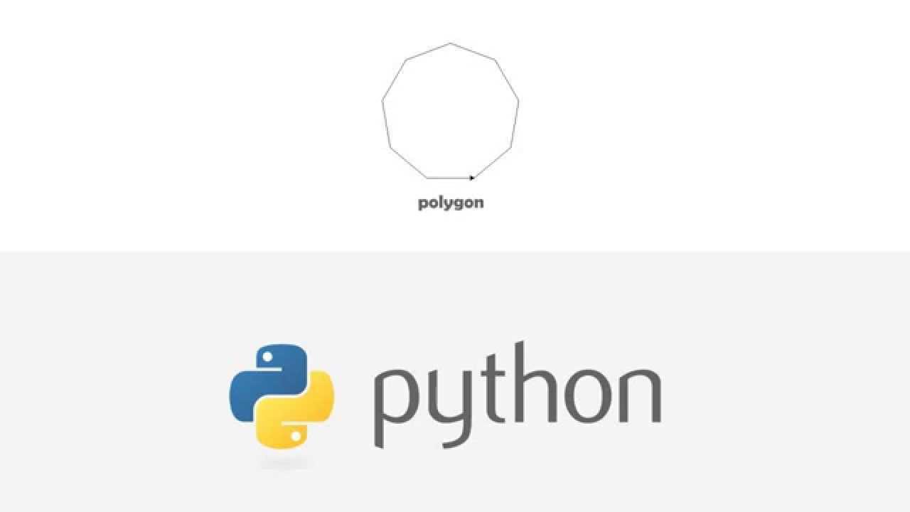 Python polygon (turtle)