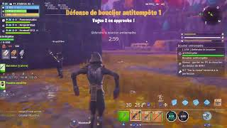 LIVE FORTNITE BATTLE ROYALE SAUVER THE WORLD I AM PAST VILLEPLANCHE
