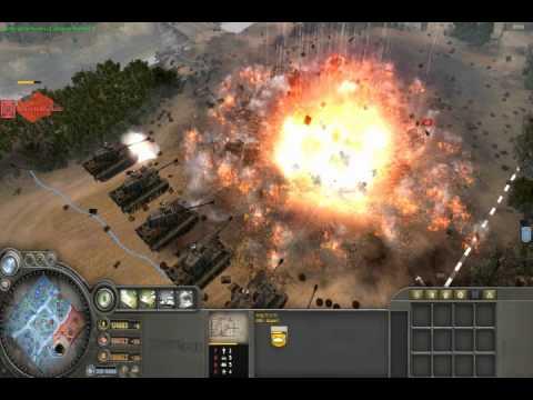 King Tiger Destruction- Company of Heroes ToV |