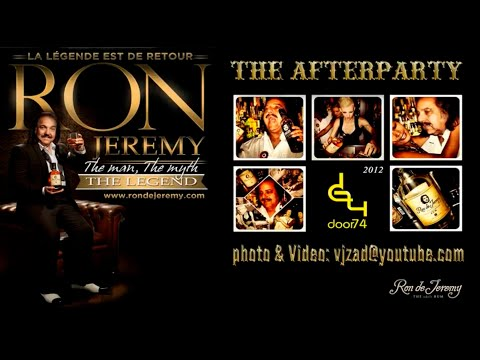 "Afterparty with ""Ron Jeremy"", Amsterdam 2012"