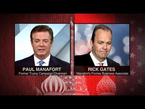 Paul Manafort, Rick Gates plead not guilty to 12 counts