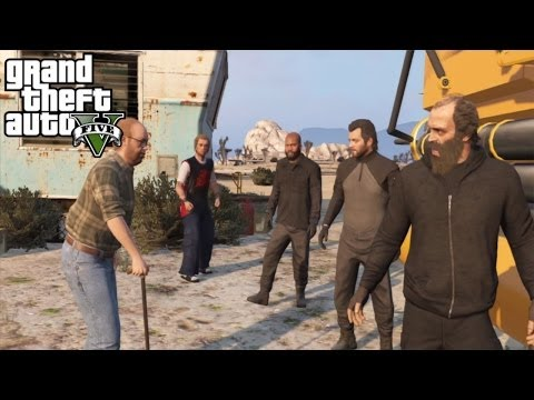 The Merryweather Heist (Offshore) - GTA V Mission #35 (HD)