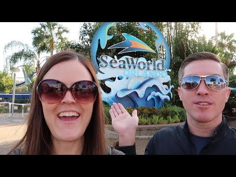 Sea World Orlando Vlog with Jenna and Dale