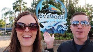 Sea World Orlando Vlog with Jenna and Dale