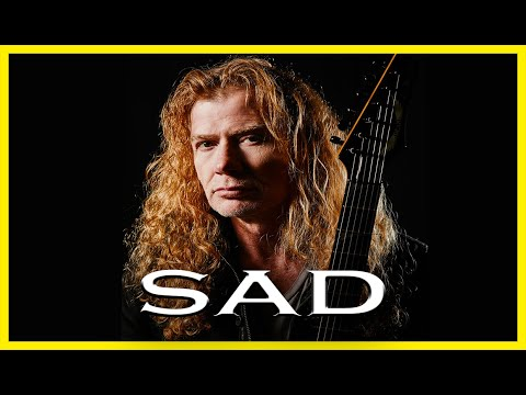 Dave Mustaine being a mess for 2 minutes
