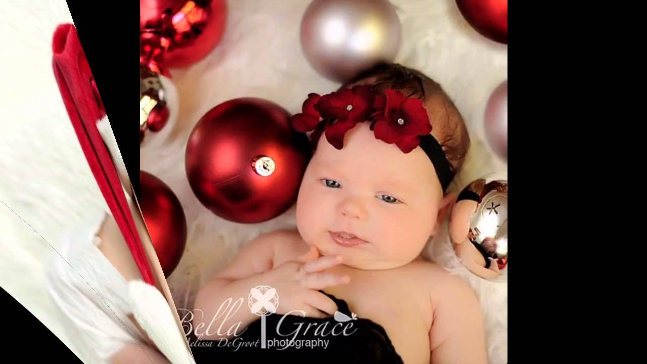 Cute Baby Christmas Photo Decorations Ideas Youtube